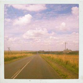 The open road from Joburg to Maseru looked a lot like Nebraska.